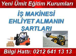 Forklift ehliyeti nasıl alınır